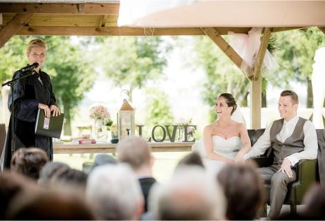 Buiten trouwen, juli 2013